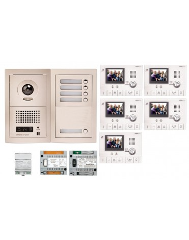 Aiphone GTV5F Kit vidéo kit 5 appartements 2 955,00 €