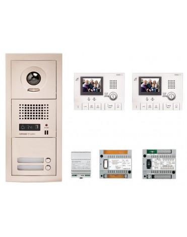 Aiphone GTV2F Kit vidéo kit 2 appartements 1 635,00 €
