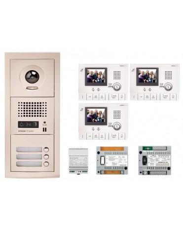 Aiphone GTV3F Kit vidéo kit 3 appartements 2 050,00 €